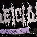 Deicide - Patch - DEICIDE backpatch white embroidered