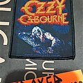Ozzy Osbourne - Patch - OZZY OSBOURNE bark to the moon 2015 official merchandise