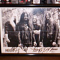 Deicide - Other Collectable - DEICIDE autographs on official photo 1995