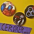 Deicide - Pin / Badge - DEICIDE circular  badge pin