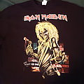 Iron Maiden Killers version 2017 book of souls tour TShirt or Longsleeve