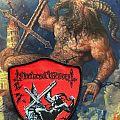 Nocturnal Graves - Satan's Cross Patch
