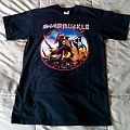 "Swashbuckle ""The Buckler"" Iron Maiden tribute T-shirt"