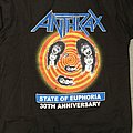 Anthrax State of Euphoria 30th Anniversary
