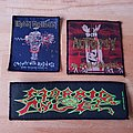 Autopsy + Iron Maiden + Morbid Angel - Patches