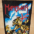Manowar - Hail To England - vintage backpatch