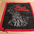Black Sabbath - Paranoid - vintage red border patch