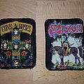 Guns N' Roses - Patch - Guns N' Roses + Saxon - Patches