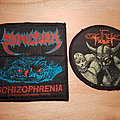 Sepultura - Schizophrenia & Celtic Frost - Emperor's Return - patches