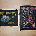 Iron Maiden - Somewhere In Time /// Helloween - Savage Pumkins /// Patches