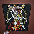 Slayer - Show No Mercy - vintage backpatch