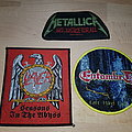 Entombed + Metallica + Slayer - Patches