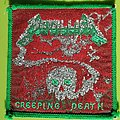 Metallica - Creeping Death - green/green vintage patch