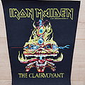 Iron Maiden - Patch - Iron Maiden - The Clairvoyant - vintage backpatch