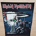 Iron Maiden - Patch - 2 Minutes To Midnight vintage backpatch