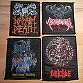 Benediction / Death / Deicide / Napalm Death - vintage patches