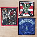 Slayer + Metallica + S.O.D. - Patches