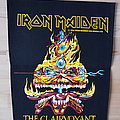 Iron Maiden - Patch - The Clairvoyant vintage backpatch