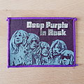 Deep Purple - In Rock - purple border vintage patch