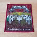 Metallica - Master Of Puppets - red border patch