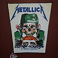 Metallica - Crash Course In Brain Surgery - vintage backpatch