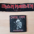 Iron Maiden + Cannibal Corpse - Patches
