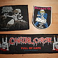 Cannibal Corpse + Megadeth + Morbid Angel - patches