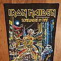 Iron Maiden - Somewhere In Time - vintage backpatch