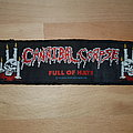 Cannibal Corpse - Full Of Hate - Stripe Patch - 1993 Blue Grape