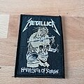 Metallica - Patch - Metallica - Harvester Of Sorrow - patch