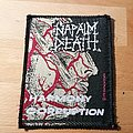 Napalm Death - Patch - Napalm Death - Harmony Corruption - patch