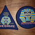 Iron Maiden - Patch - Iron Maiden - Powerslave & World Slavery Tour - Patches