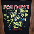 Iron Maiden - Patch - Piece of Mind vintage backpatch