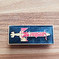 Manowar - Hail To England - vintage tour pin Pin / Badge
