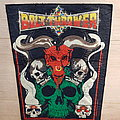 Bolt Thrower - Cenotaph - Backpatch - 1991 Popworld Promotions