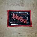 Judas Priest - British Steel - vintage red border patch