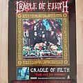 Cradle Of Filth - Other Collectable - Cradle Of Filth - Dusk And Her Embrace - poster