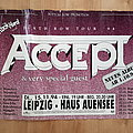 Accept - Other Collectable - Accept - Death Row Tour '94 - poster