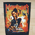 Manowar - Agony And Ecstasy - backpatch