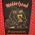 Motörhead - Orgasmatron - vintage backpatch