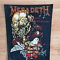 Megadeth - Patch - Megadeth - Peace Sells... But Who's Buying? - backpatch v2