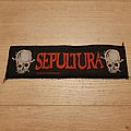 Sepultura - Death From The Jungle - superstrip patch