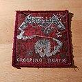 Metallica - Patch - Metallica - Creeping Death - red border patch