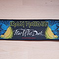 Iron Maiden - Patch - Iron Maiden - Fear Of The Dark - superstrip patch