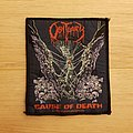 Obituary - Cause Of Death - vintage patch