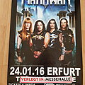 Manowar Tour 2016 - poster Other Collectable