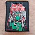 Metal Church - Fake Healer - vintage patch