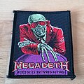 Megadeth - Patch - Megadeth - Peace Sells... But Who's Buying? - patch