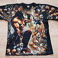 Manowar - Agony And Ecstasy - vintage all-over-print Shirt XL