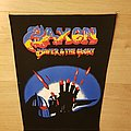 Saxon - Power & The Glory - vintage backpatch